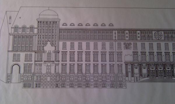 Fassadenplan